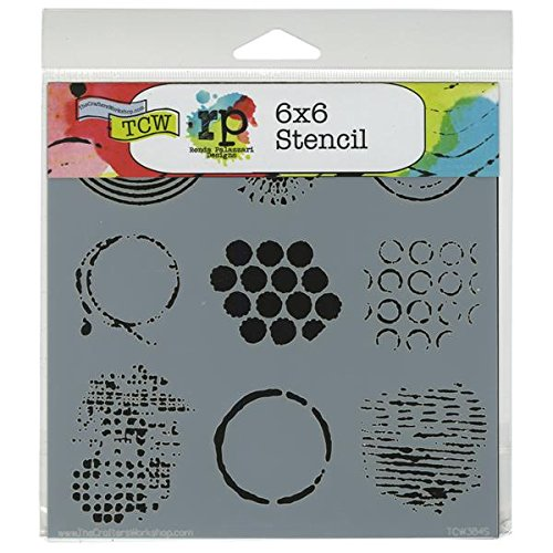 Crafter's Workshop Templates 6X6-Well Rounded
