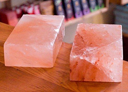 WBM 5601 Himalayan Multi-Purpose Natural Himalayan Crystal Salt Hand Carved 2 x 4 x 8 Kitchen Brick, 5-Pounds