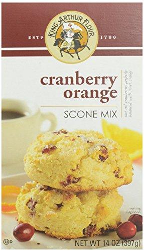 King Arthur Flour Cranberry Orange Scone Mix, 14 Ounce