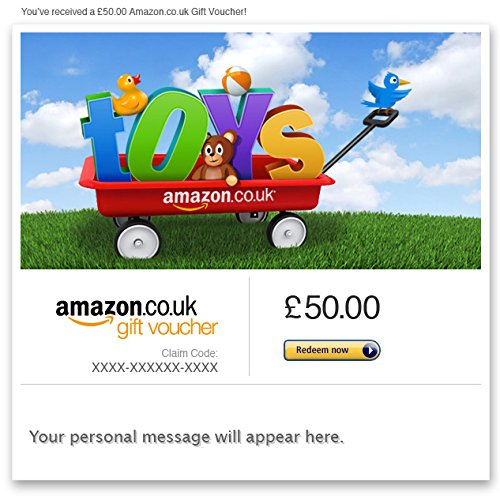 Toys - E-mail Amazon.co.uk Gift Voucher