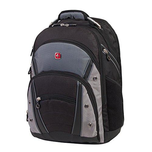 Swiss Gear 17.3-Inch Laptop, Black / Dark Grey, Under Seat