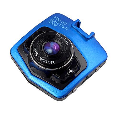 Btopllc On dash Video Digital Video Recorder Car DVR Dash Cam Driving Recorder DVR, On-dash Drive Recorder USB Car Charger Vehicle Camera Video Recorder