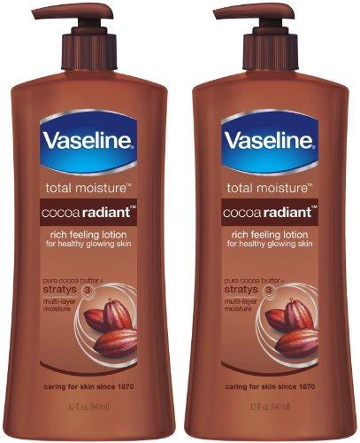 Vaseline Total Moisture Cocoa Radiant Lotion - 32 oz - 2 pk