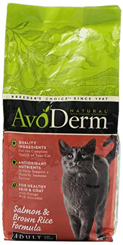 AvoDerm Natural Adult Salmon Corn Free Formula Cat Food, 6-Pound
