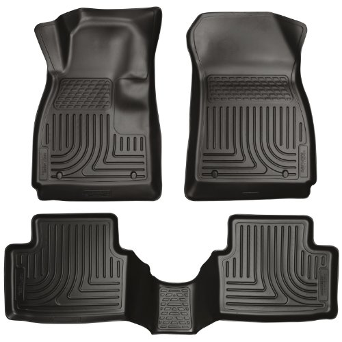 Husky Liners 99101 WeatherBeater Black Front and 2nd Seat Floor Liner