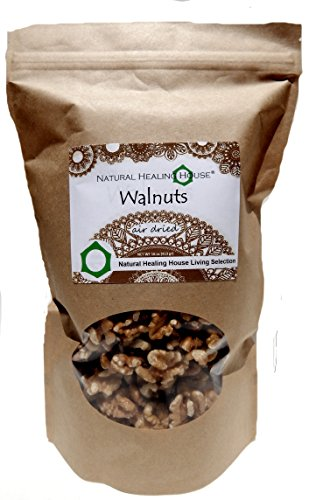 Natural Healing House Organic Raw Walnuts (halves and pieces) 16 oz