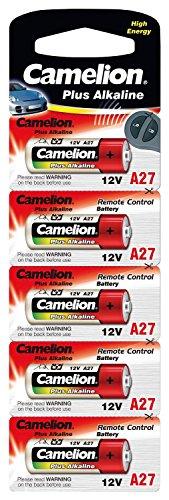 Camelion LR 27A 12 V Plus Alkaline Battery (Pack of 5)
