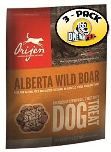 Orijen Wild Boar Freeze-dried Dog Treats 2oz. (Pack of 3)
