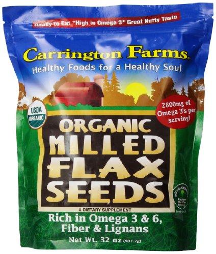 Carrington Farms Milled Flax Seeds, 32 Ounce