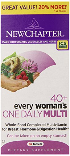New Chapter Every Woman's One Daily 40 Plus Bonus Tablets, 86 Count