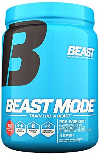 Beast Sports Nutrition Beast Mode Pre-Workout, 22.93 Ounce