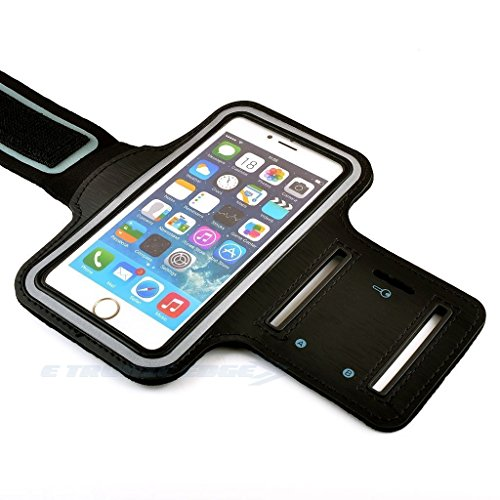 Cell Phone Armband: Best Running Sports Arm Strap Holder Case For Sport Mobile Exercise Workout Band Pouch For Apple iPhone 6 6S Plus SE iPod Touch/ All Android Samsung Galaxy S5 S6 S7 Edge Note 5