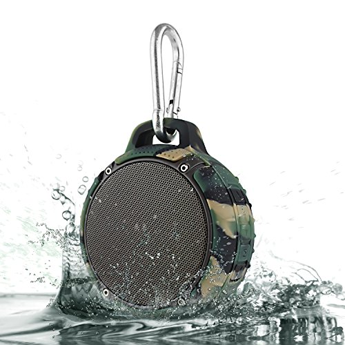 Shower Speakers, LeFun™ Cannon Bluetooth Waterproof Wireless Stereo 5W Strong Portable Speaker for Outdoor Bass MP3 Player