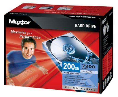 Maxtor L01P200 Internal 7200 RPM 200 GB Hard Drive