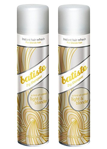 Batiste Dry Shampoo, Light and Blonde, 6.73 Ounce (2 Pack)