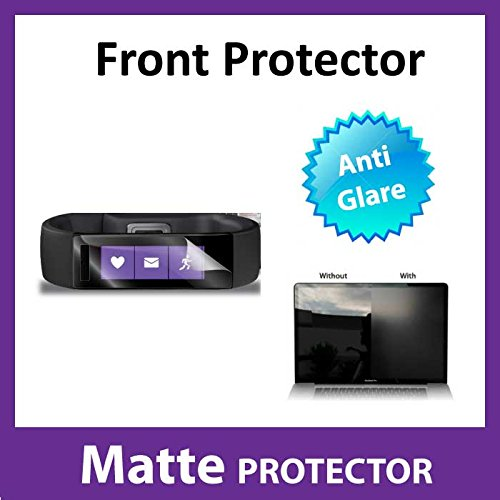 Microsoft Band MATTE Anti Glare Front Screen Protector Film Military Grade Protection Exclusive to ACE CASE