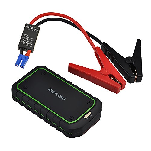 VicTsing® Jump Starter for car, with Portable Charger Power Bank with 400A Peak Current, Advanced Safety Protection and Built-In LED Flashlight