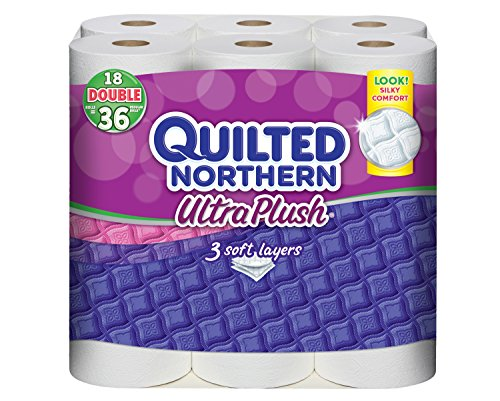 Quilted Northern Ultra Plush Bath Tissue-18 Double Rolls