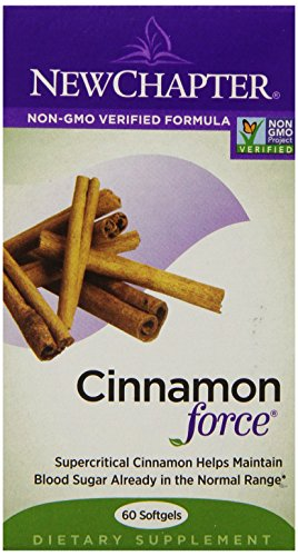 New Chapter Cinnamon Force, 60 Softgels