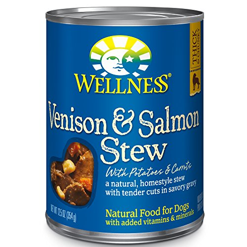 Wellness Natural Wet Canned Dog Food, 12.5-Ounce Can (Pack of 12)