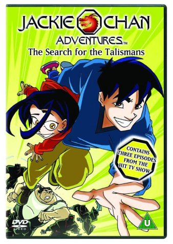 Jackie Chan Adventures: The Search For The Talismans [DVD] [2001]