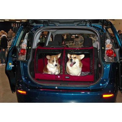 Car-Go Double Pop-Up Pet Shelter Color: Bordeaux