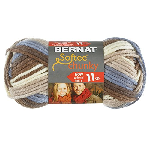 Bernat Softee Chunky Ombre Yarn, Natures Way