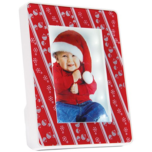 Light Up Shadow Box Christmas Picture Frame