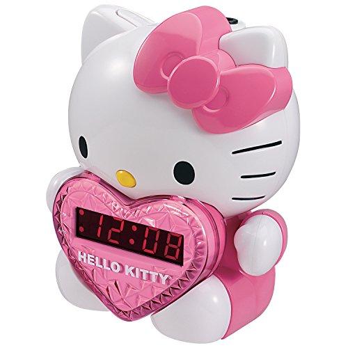 Spectra KT2064 Hello Kitty AM/FM Projection Clock Radio