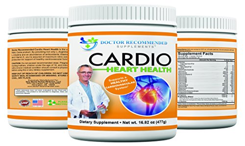 Cardio Heart Health-(Buy 3 & Save) L-Arginine Powder Supplement-5000mg plus 1000mg L-Citrulline-with Minerals, and Antioxidants Vitamin C & E-Total Cardiovascular Support-16.82 oz