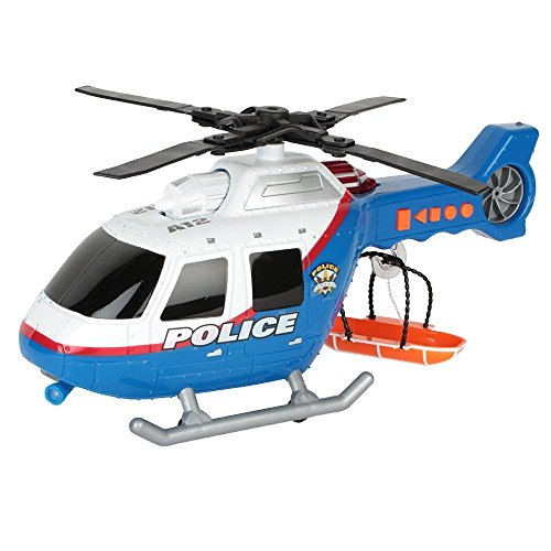 Toy State 14 Rush And Rescue Police And Fire - Police Helicopter