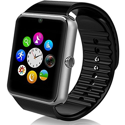 StarryBay Smart Watch Bluetooth Sweatproof Wrist Watch with Touch Screen for Notification Push /Handsfree Call for Andorid