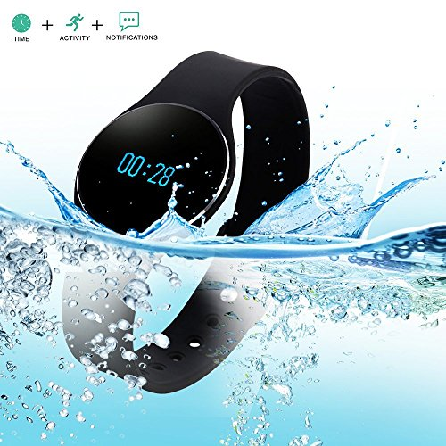 Bluetooth 4.0 Smart Bracelet Sport Wristband Silicone Watch Waterproof SMS Reminder Sleep Fitness Tracker Calorie