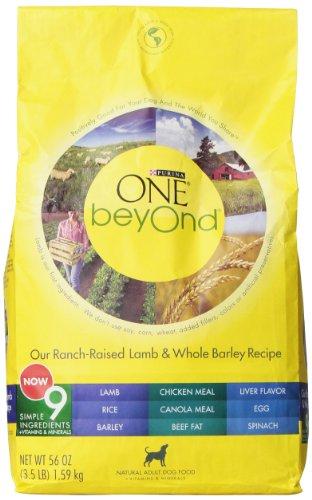 Purina One Beyond Dog Lamb Barley, 3.50-Pounds
