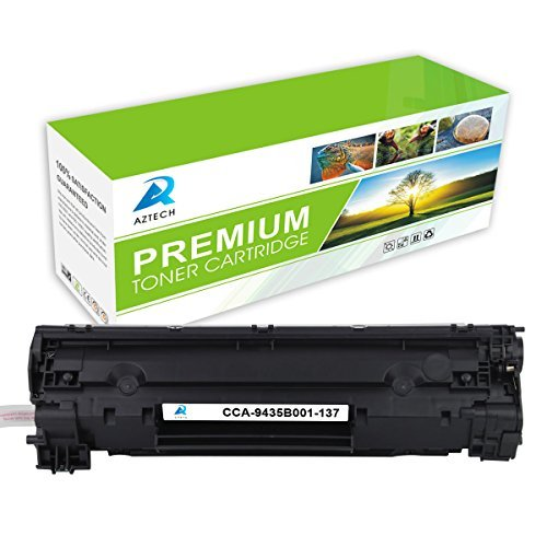 Aztech 1 pack Toner Cartridge Replaces Canon 137 9435B001 Cartridge 137 Black 2400 Pages Yield Used for Printers MF212w MF216n MF227dw MF229dw MF211 MF212w MF216n MF217w MF226dn MF229dw