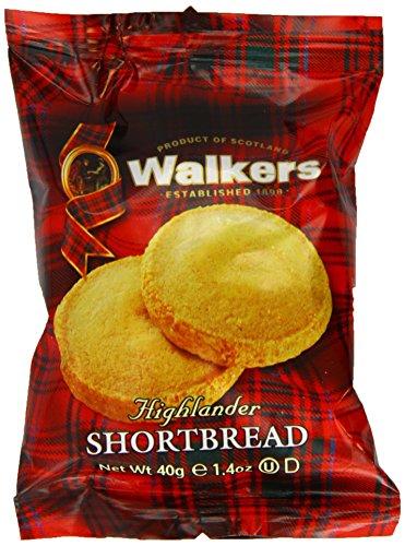 Walkers Shortbread Highlanders 2 count  (Pack of 24)