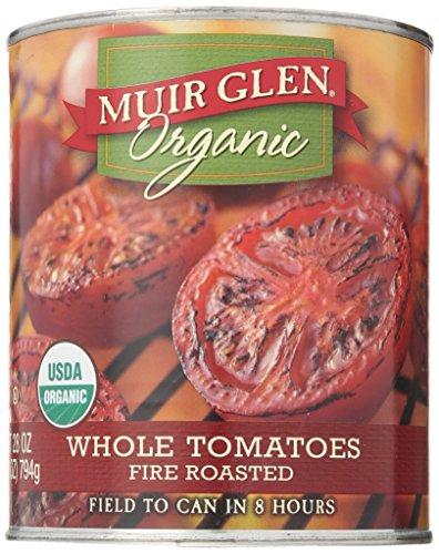 Muir Glen Organic Fire Roasted Whole Tomatoes, 28 Ounce