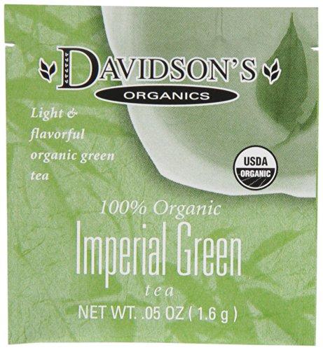 Davidson's Tea Single Serve Assorted Green Teas, 100-Count Tea Bags, 11-Ounce Bag