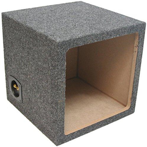 ASC Single 10 Subwoofer Kicker Square L3 L5 L7 Sealed Sub Box Speaker Enclosure