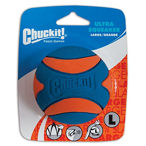 Chuckit Ultra Squeaker Ball Large 1 Pack