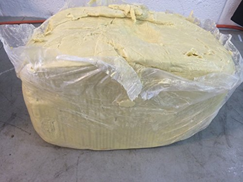 100% Pure Unrefined Raw SHEA BUTTER - from the nut of the African Ghana Shea Tree (25 Pounds)