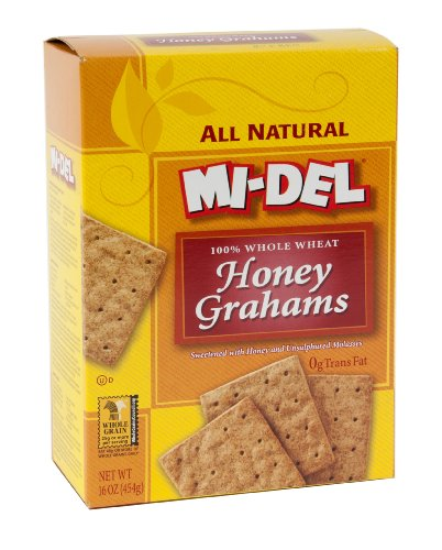 Mi-Del Honey Grahams, 16 Ounce