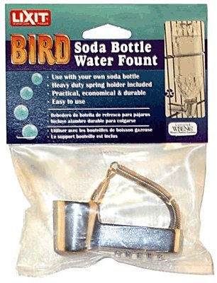 Pop Bottle Water Fount - POP BOTTLE WATER FOUNT