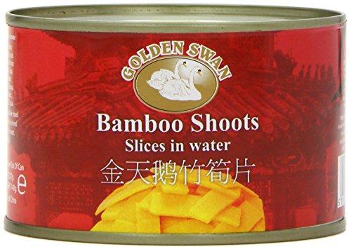 Golden Swan Brand Bamboo Shoot Slices 227 g (Pack of 6)