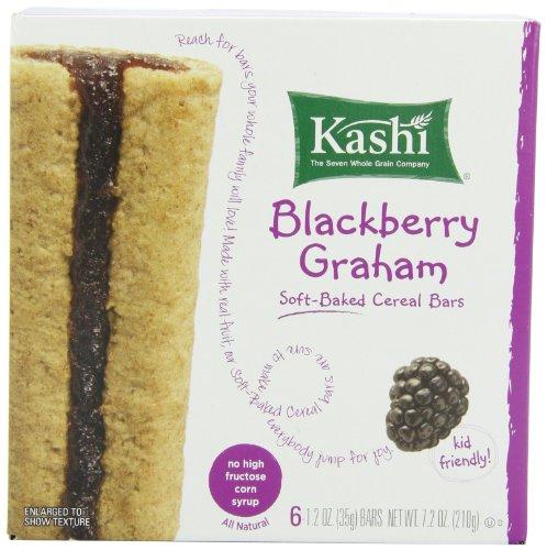 Kashi Cereal Bar, Blackberry Graham, 1.2 Ounce,6 count(Pack of 6)