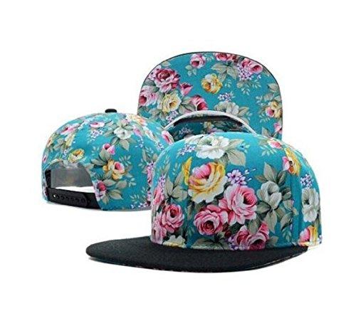 5 Panal Camp Snapbacks Floral Caps Sports Hats for Women & Men