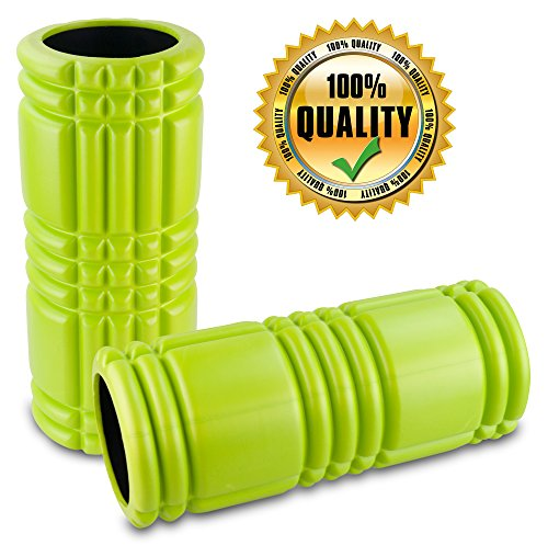 Premium Foam Roller for Muscle Massage with Matrix Technology 13 Inches Professional Grade EVA Foam Exercise Roller