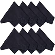 QKOO Microfiber Cleaning Cloths - 8 x 8 inches (20cm x 20cm)
