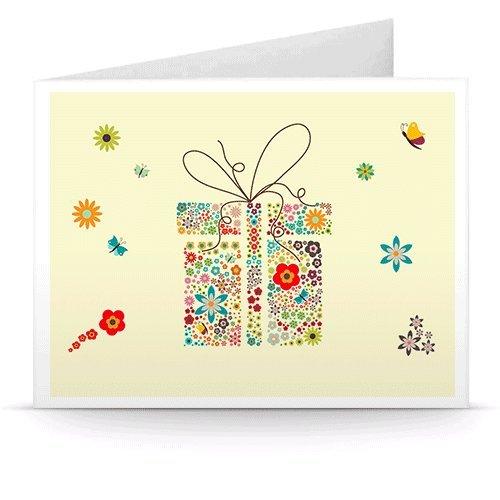 Gift Box (Flowers) - Printable Amazon.co.uk Gift Voucher