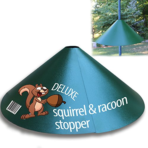Squirrel & Raccoon Stopper 18 Deluxe With Extra Slip for Extra Protection. Wrap Around Stopper *NEW RELEASE* Premium Solid Steel. Only by iPrimio ®